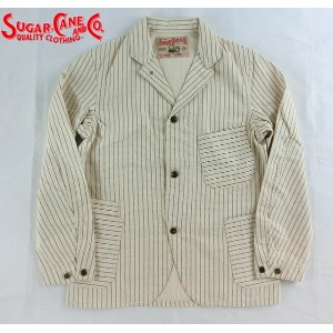 No.SC13257 SUGAR CANE シュガーケーンFICTION ROMANCE9.5oz.WHITE WABASH WORK JACKET