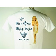 """Buzz Rickson's (バズリクソンズ)S/S T-SHIRTSGIL ELVGREN COLLECTION""""THE FIERY QUEEN""""EIGHTH AIR FORCE"""