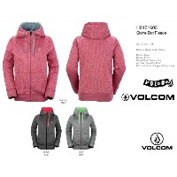 2016■VOLCOM GIRLS STONE DOT FLEECE■ボルコム■パーカー■