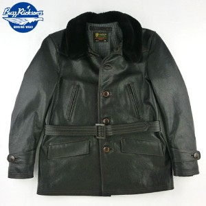 "No.BR80330 BUZZ RICKSON'S バズリクソンズAVIATION ASSOCIATES""AVIATORS LEATHER COAT"""
