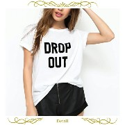 MINKPINK (ミンクピンク)DROP OUT Tシャツ(ホワイト)【AKRIS アクリスプント Givenchy ジバンシー トップス MINKPINK ミ...