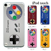 iPod touch 5 6 ケース iPodtouch ケース アイポッドタッチ6 第6世代 スーパーレトロゲーム コントローラー for iPod touch...