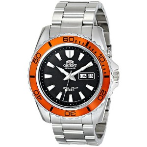 オリエント 時計 メンズ 腕時計 Orient Men's FEM75004B9 Mako XL Analog Display Japanese Automatic Silver Watch