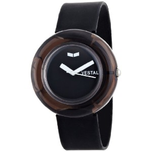 ベスタル 時計 レディース 腕時計 Vestal Women's SET001 The Set Unique Black Bangle Watch