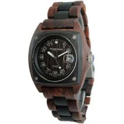 テンス 時計 メンズ 腕時計 木製 Tense Wood Unique Two-Tone Watch Mens Discovery Trail G4101SD ANDF