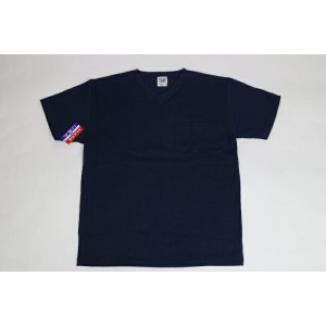 CAMBER MAX WEIGHT POCKET S/S TEE NAVY(キャンバー ショート Tシャツ 半袖 Vネック)