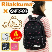 OUTDOOR コラボ リュック リラックマ ママとペアリュック キッズ リュックサック 子供用 通学 通園 OUTDOOR PRODUCTS ...
