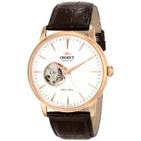 "オリエント 時計 メンズ 腕時計 Orient Men's FDB08001W0 ""Esteem"" Stainless Steel Automatic Watch with Leather Band"