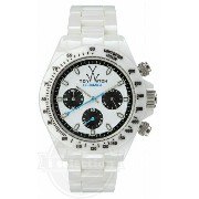【Toy Watch トイウォッチ メンズ レディース 腕時計 Ceramica Chronograph White Ceramic Unisex Watch CM03WH】