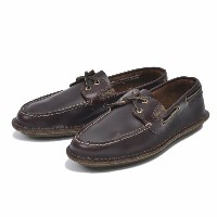 【SPERRY TOPSIDER】 スペリートップサイダー デッキシューズ HUNTINGTON 2-EYE LEATHER ハンティントン 2アイレット レザー STS11997 AMARETTO