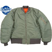 "BUZZ RICKSON'S/バズリクソンズ Jacket, Flying, Man's Intermediate, Type MA-1 SPEC.MIL-J-8279D MA-1""D-TYPE""..."