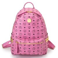 MCM エムシーエム バッグ リュック MMK3AVE38 PINK STARK BACKPACK MEDIUM