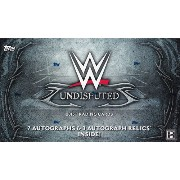 WWE 2015 Topps Undisputed Pro Wrestling Cards パック(Pack) 11/25入荷!