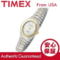CARRIAGE BY TIMEX (キャリッジ バイ タイメックス) C6A241 CARRIAGE/キャリッジ 蛇腹ベルト ゴールド×シルバー レデ...