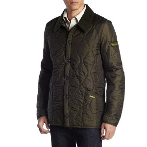 ★Barbour(バブアー)★Liddesdale Track Quilted リッズデイルトラックジャケット MENSキルティングジャケットOlive