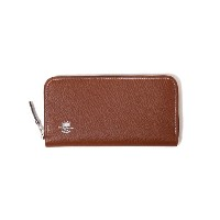 Whitehouse Cox (ホワイトハウスコックス) / ZIP ROUND PURSE(London Calf×Bridle Leather Collection)(ロングウォレット財布...