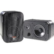 JBL Control 1 Pro 5.25IN 150W 2 Way Compact スピーカー Pair Black【並行輸入品】