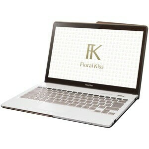 富士通 ノートパソコン FMV LIFEBOOK Floral Kiss CH75/W FMVC75WW [Clear White with Brown] [液晶サイズ:13.3インチ CPU...