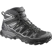 サロモン Salomon メンズ ハイキング シューズ・靴【X Ultra Mid 2 GTX Hiking Boot】Black/Black/Aluminium