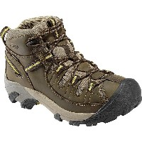 キーン KEEN メンズ ハイキング シューズ・靴【Targhee II Mid Hiking Boot】Black Olive/Yellow