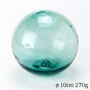 浮き玉 ガラス製 Float ball made of glass