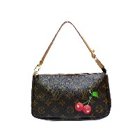 ER美品 ルイヴィトン チェリー アクセサリーポーチ 限定 0329【中古】Louis Vuitton 2005年 限定
