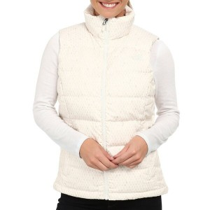 ノースフェイス レディース ヌプシ 2 ダウン ベスト The North Face Women Nuptse 2 Down Vest Gardenia White Ditsy Print