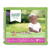 Seventh Generation 無添加 おむつ ステージ3(7-13kg) 31枚入り セブンスジェネレーション Seventh Generation Baby Free and Clear...