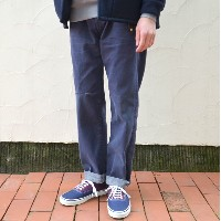 chimala(チマラ)/ DENIM USED ANKLE CUT -DARK INDIGO-