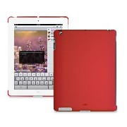 PURO iPad2用背面カバー BACK COVER IPAD 2 SOFT TOUCH RED(Smart Cover対応) IPAD2BCOVERRED