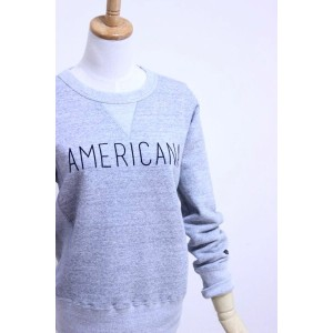 "Americana(アメリカーナ)CREW NECK SWEAT ""AMERICANA"" 3color 2016'S/S【Lady's】"