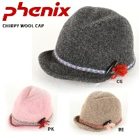 PHENIX フェニックス 帽子 CHIRPY WOOL CAP PH268HW63 BE/CG/PK【帽子】