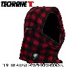 (technine テックナイン) スノーボード フードウォーマー (technine テックナイン)BRADSHAW FLEECE FACEMASK RED FLANNEL ...