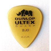 Jim Dunlop ギター ピック Ultex Sharp 433R2.0 (2.00mm)