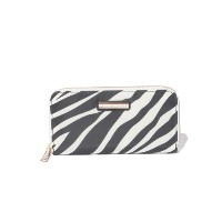 ★dポイント20倍★【TOMMY HILFIGER(トミーヒルフィガー)】POPPY LARGE Z/A WALLET ZEBRA【dポイントでお得に購入】