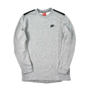 NIKE MODERN CREW-DARK GREY HEATHER