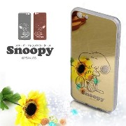 スヌーピー キャラクター snoopy mirror case シリコンケース iPhone6/iPhone6s/iPhone6 plus/iPhone6s plus/Galaxy s6 背面カバー 鏡...