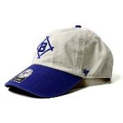 47 Brand カジュアルキャップ Dodgers Cooperstown Cleanup ドジャース クーパーズタウン Natural ナチュラル