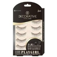 DECORATIVE EYELASH PLAY GIRL 上まつ毛用 No.27 SE85559
