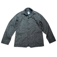 【期間限定30%OFF!】POST OVERALLS(ポストオーバーオールズ)/#1102SB JAPANESE WORK SWEET BEAR JACKET/indigo swirl