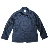 【期間限定30%OFF!】 POST OVERALLS(ポストオーバーオールズ)/#1102SB FRENCH TWILL SWEET BEAR JACKET/navy