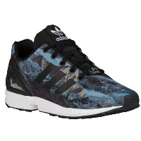 adidas Originals ZX Flux キッズ/レディース Black/Black/White アディダス