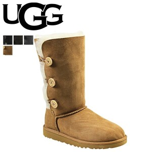 UGG アグ キッズ ベイリーボタン ムートンブーツ KIDS BAILEY BUTTON TRIPLET 1962YK シープスキン レディース