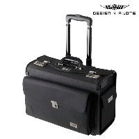 DESIGN 4 PILOTS デザイン4パイロッツ フライトバッグ キャリーバッグ スーツケース ブラック PILOT CASE AIRLINER 飛行機 パイロットグッズ メンズ