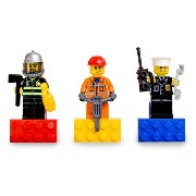 レゴ マグネット 852513 LEGO CITY Hero Magnet Set