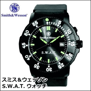 Smith & Wesson スミス&ウェッソン S.W.A.T. tactical Watch shoulder bag スワット タクティカルウォッチ 腕時計 ミリタリーウォッチ 【a】