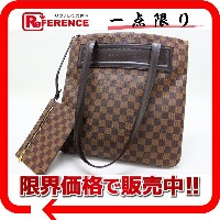 LOUIS VUITTON ルイ・ヴィトン ダミエ クリフトン トートバッグ ポーチ付き N51149 【中古】