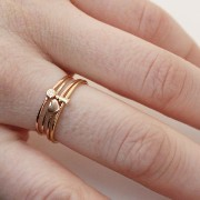 ALPHABET RING, YELLOW GOLD Catbird(キャットバード) バイマ BUYMA