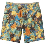 パタゴニア Patagonia メンズ 水着 ボトムのみ【Printed Stretch Planing Board Short】Neo Tropics Lite/Cusco Orange