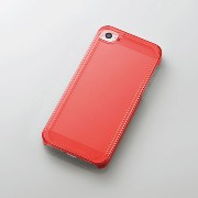 PS-A12PVSRDC エレコム iPhone 5/5s用シャイニングケース/クリアレッド【KK9N0D18P】